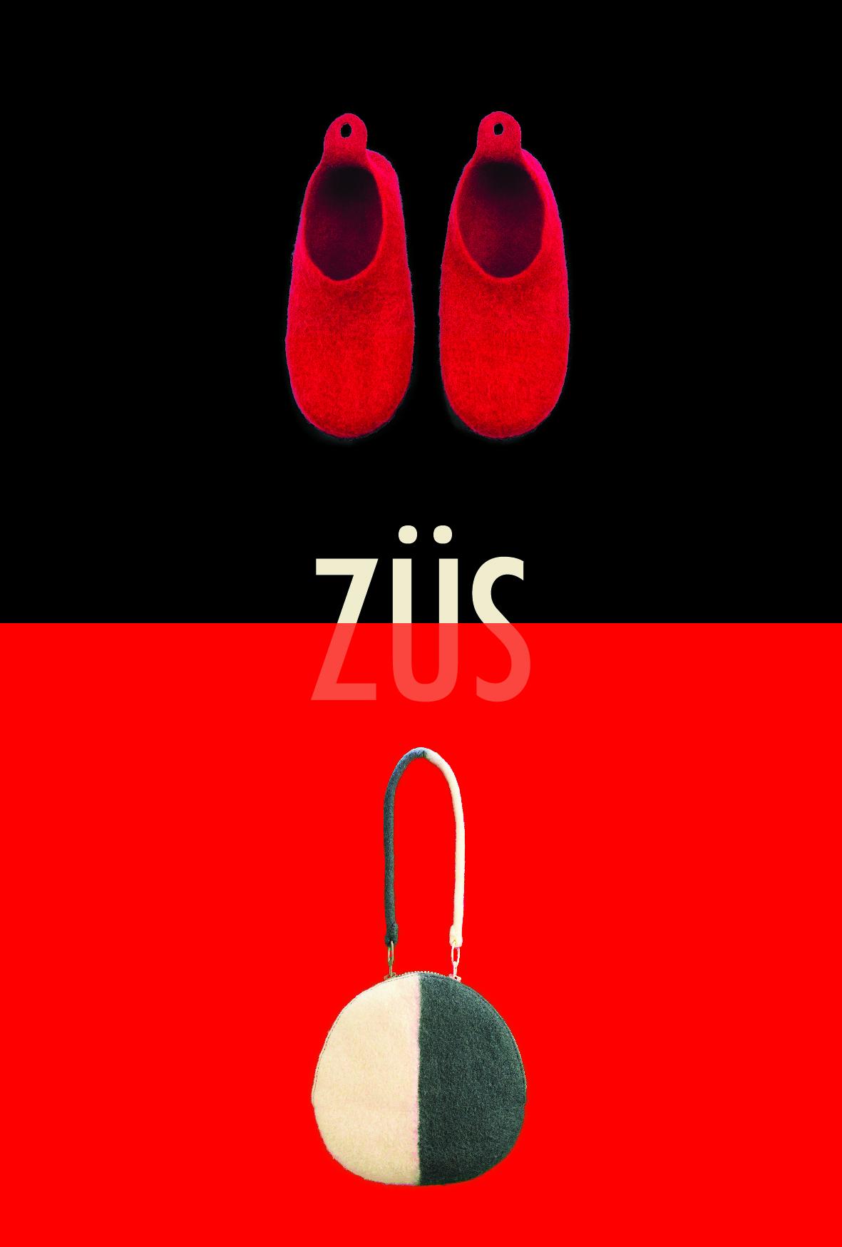 ZÜSのハンドメイドフェルト展